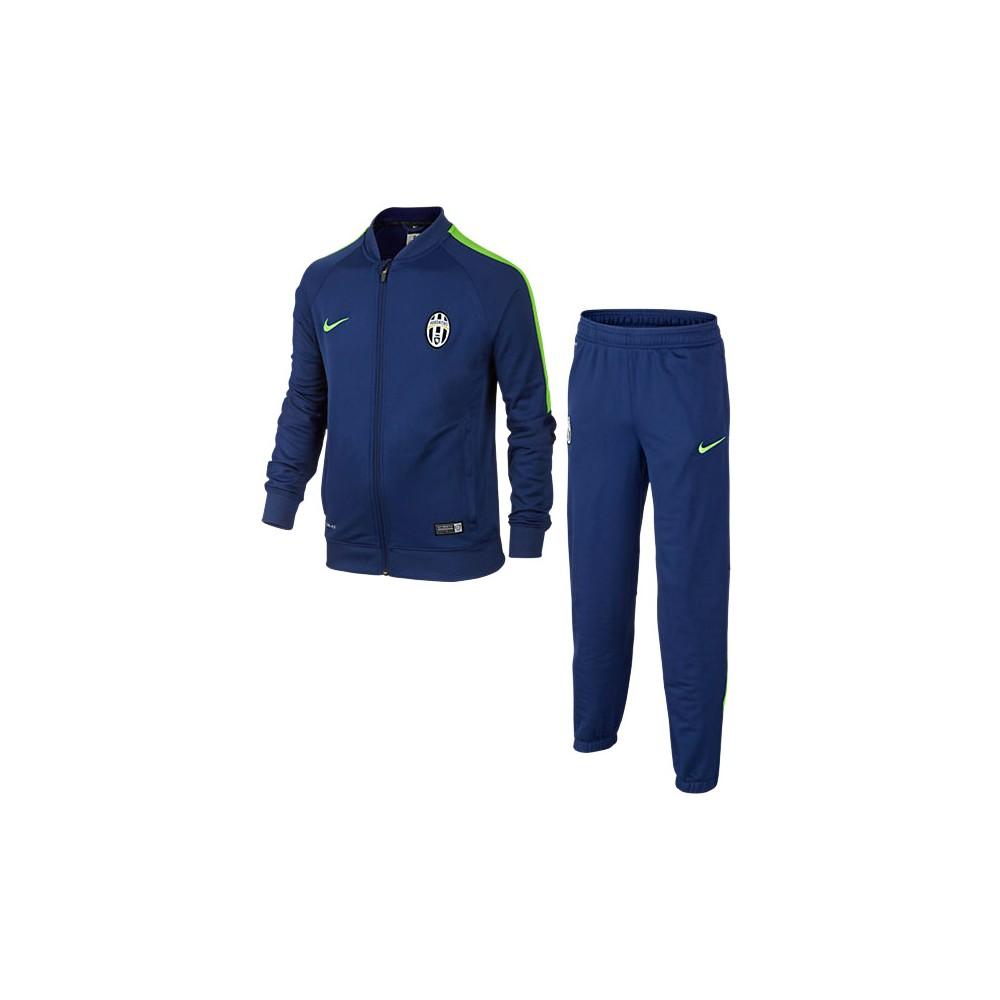 Nike - Tuta da rappresentanza uomo Juventus FC 2014/2015 - Blu/Verde
