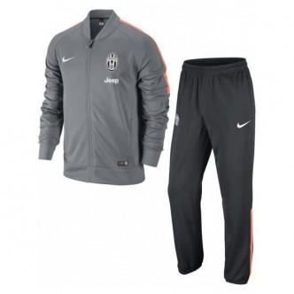 Nike - Tuta da rappresentanza uomo Juventus FC 2014/2015 - Grigio/Arancio