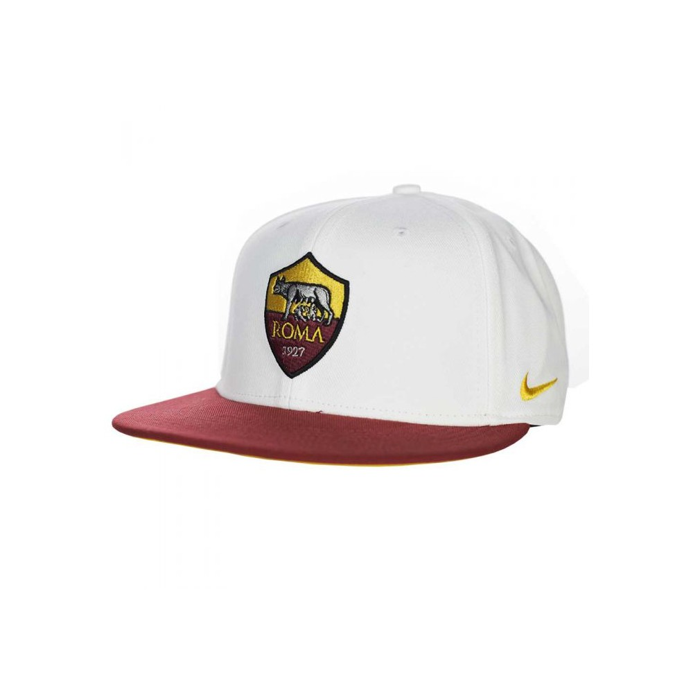 Nike - Cappellino AS Roma True Core - Bianco