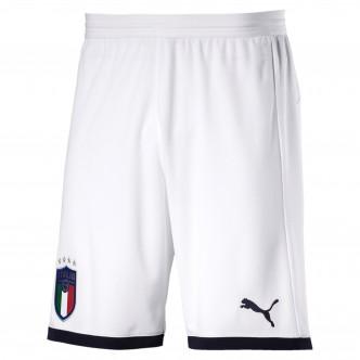 Puma - Shorts FIGC Italia - Bianco