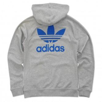 Adidas - Felpa Slim Uomo - Grigio