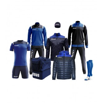 BOX VESUVIO COMPLETO COLORE BLU - ROYAL ZEUS SPORT