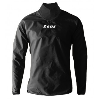 RAIN JACKET NECK KWAY ZEUS NERO