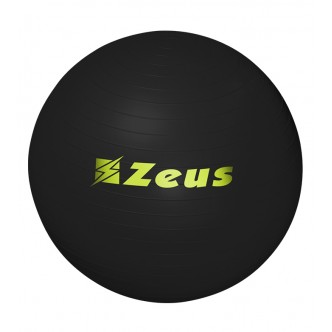GYM BALL - PALLA FITNESS NERO - ZEUS SPORT