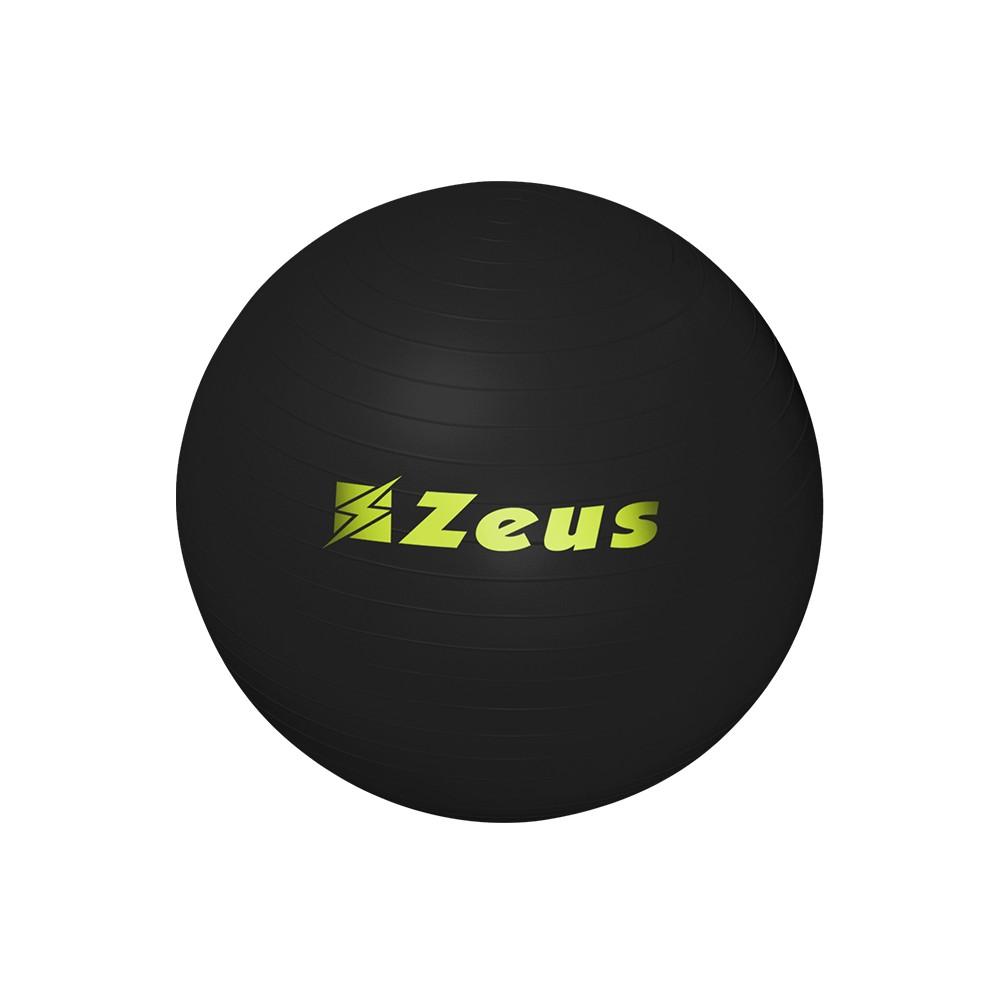 GYM BALL - PALLA FITNESS NERO - ZEUS SPORT