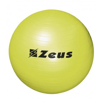 GYM BALL - PALLA FITNESS GIALLO FLUO - ZEUS SPORT