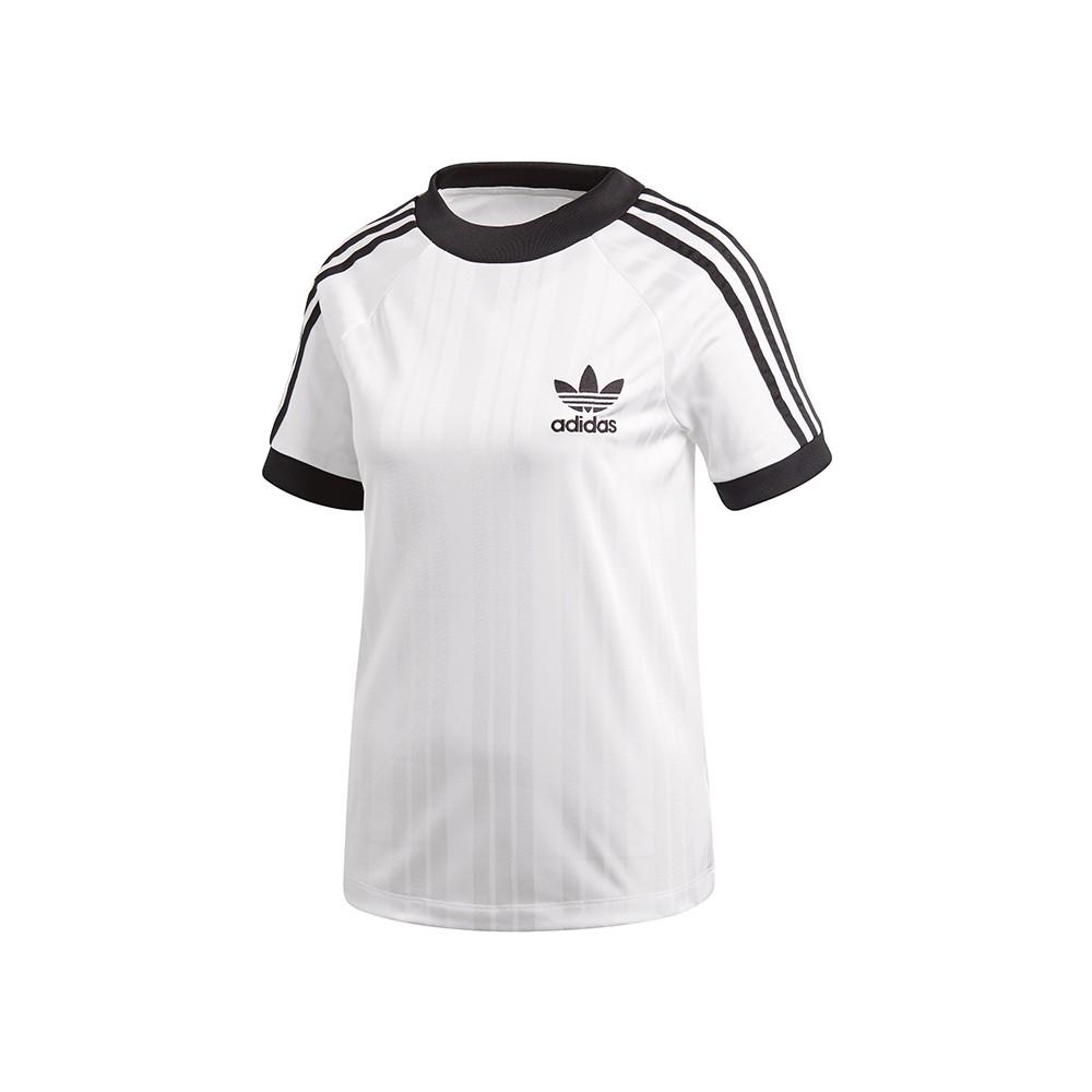 ADIDAS - MAGLIA FOOTBALL DONNA - CE1669 SC TSHIRT FOOTBALL - BIANCO