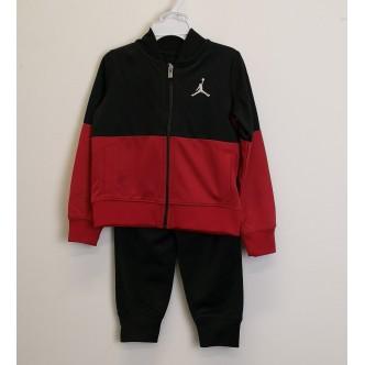 Nike Jordan - Tuta bambino 2 pezzi - Rosso/Nero RAGAZZO