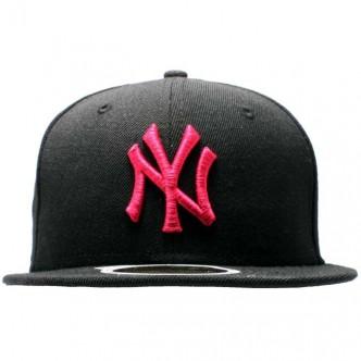 CAPPELLO NEW ERA NEW YORK YANKEES NERO/FUCSIA 59FIFTY