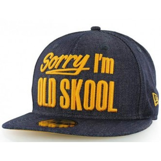CAPPELLO NEW ERA SORRY IM OLD SKOOL 59FIFTY