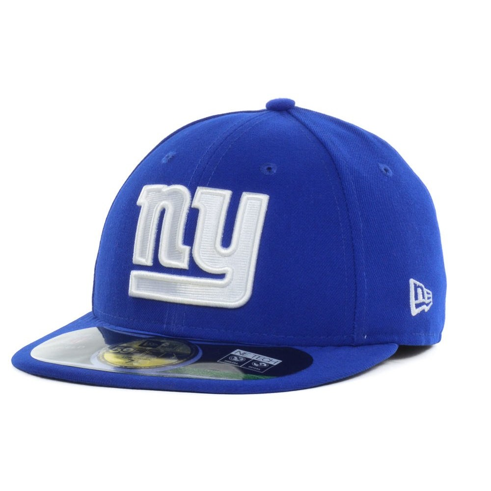 CAPPELLO NEW ERA NEW YORK GIANT ON FIELD 59FIFTY