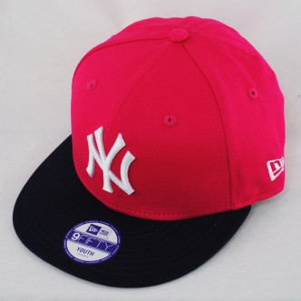 CAPPELLO NEW ERA NEW YORK YANKEES ROSE/BLACK 9FIFTY