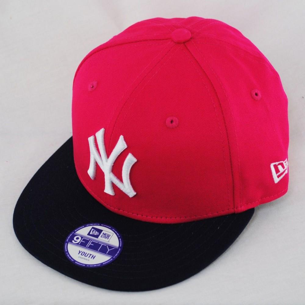 CAPPELLO NEW ERA NEW YORK YANKEES ROSE/BLACK 9FIFTY