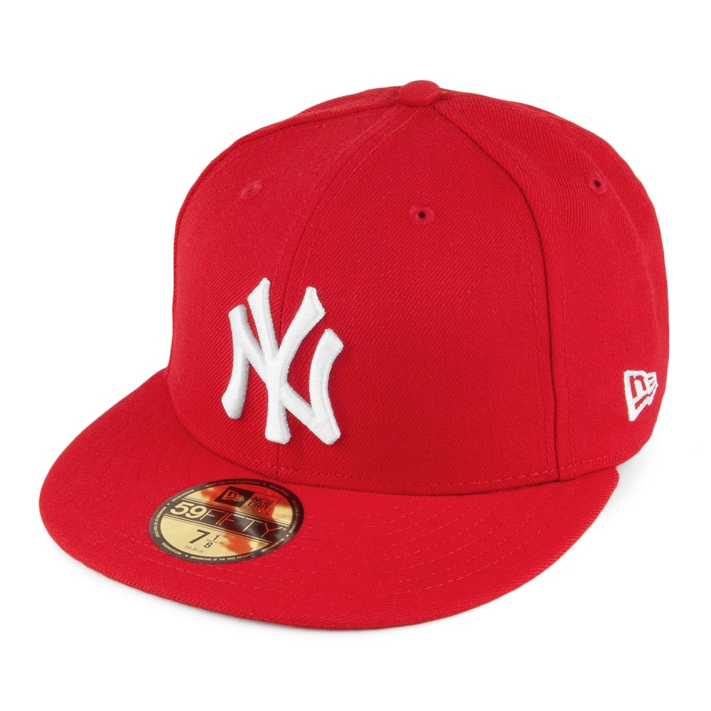 CAPPELLO NEW ERA NEW YORK YANKEES RED 59FIFTY