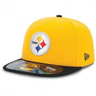 CAPPELLO NEW ERA PITTSBUGH STEELERS 59FIFTY