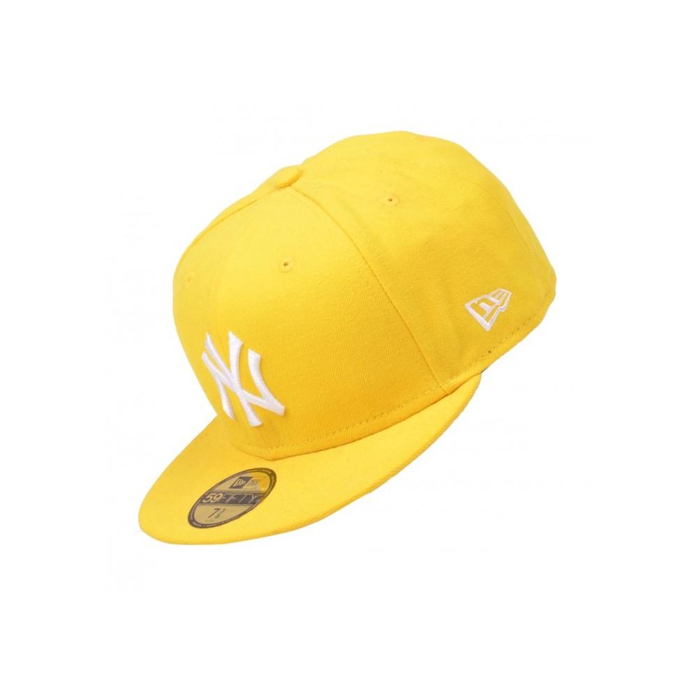 New Era Cap - MLB Basic NY Cyber Giallo-Bianco