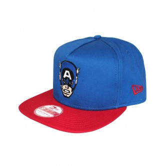 CAPPELLO NEW ERA CAPTAIN AMERICA BLU/ROSSO 9FIFTY