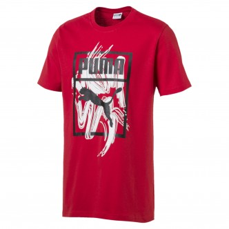 Puma Graphic Logo Brush Rossa 57872311