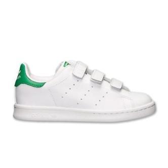 Adidas Stan Smith CF C Bianco/Verde M20607