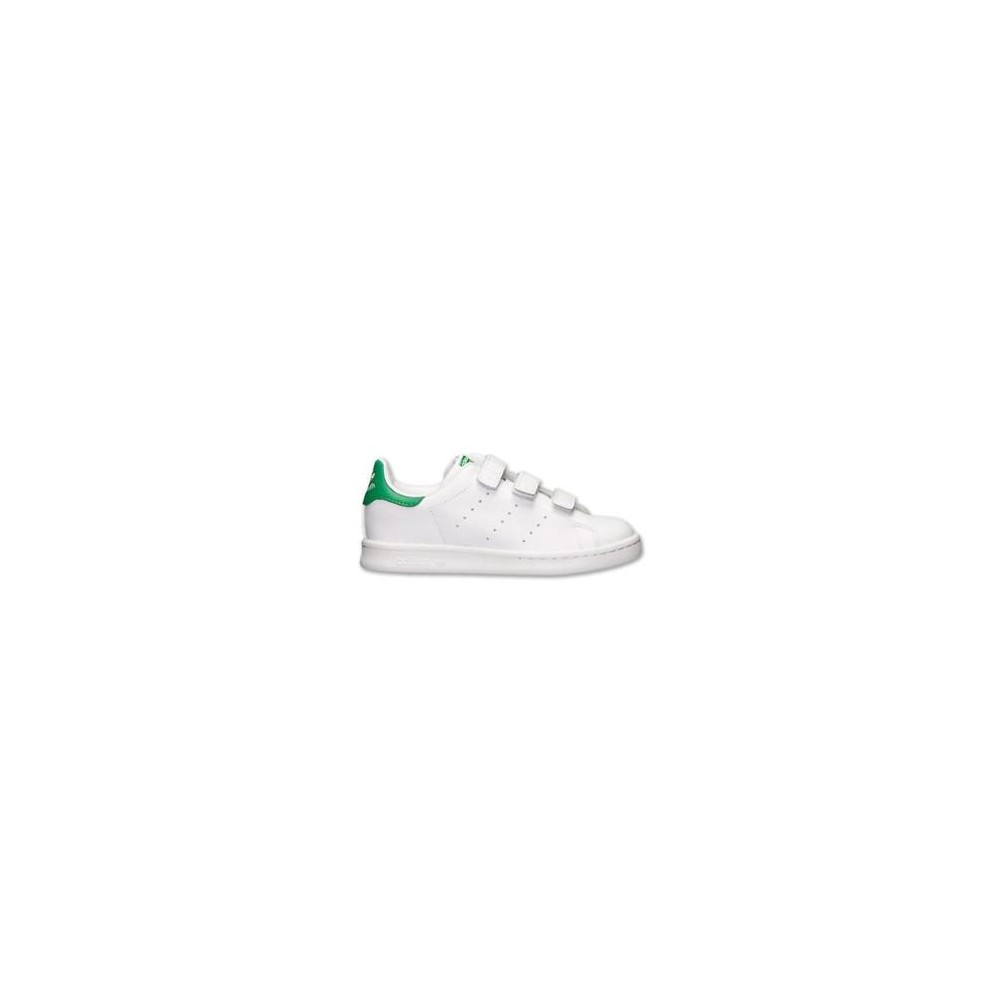 adidas stan smith sneakers bianco verde