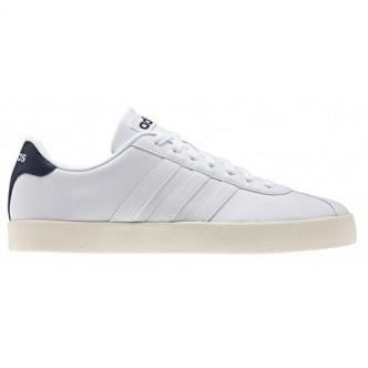 Adidas CL Court Vulc Bianco/Blu AW3930