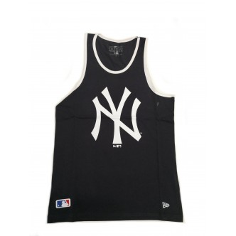 New Era NBA Logo Tank New York Yankees Nero/Bianco 11935279