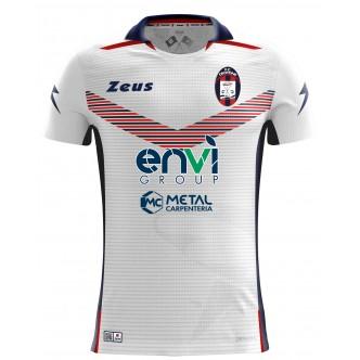 MAGLIA UFFICIALE F.C. CROTONE AWAY BIANCO PERSONALIZZATA (2018-2019)