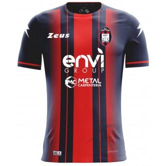 MAGLIA UFFICIALE F.C. CROTONE HOME ROSSO/BLU (2018-2019)