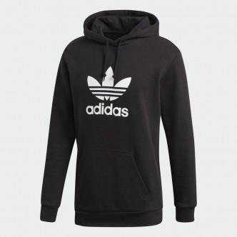 Adidas Hoodie Trefoil Nero/Bianco DT7964