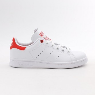 Adidas Stan Smith Leather Heart Bianco/Rosso G27631
