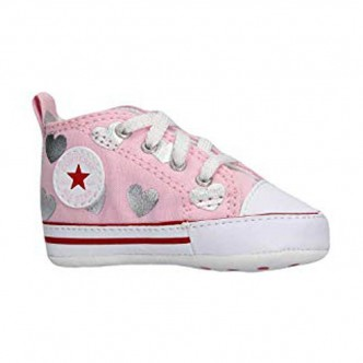 Converse Chuck Taylor All Star First Rosa/Bianco 864488C