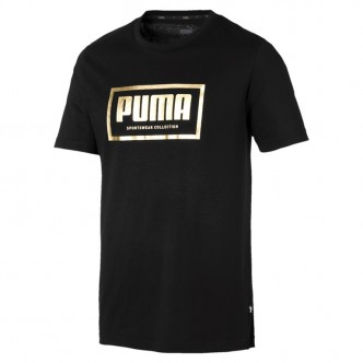 Puma Holiday Pack Tee Cotton Nero 581763-01