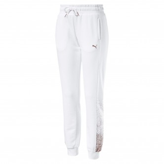 Puma Holiday Pack Pants FL Wmns Cotton Bianco 581855-02