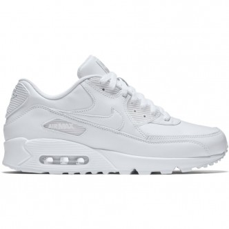 Nike Air Max 90 Leather Full White 302519-113