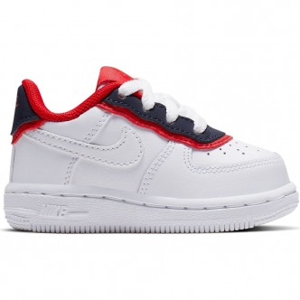 Nike Force 1 LV8 1 DBL Bianco/Ossidiana/Rosso BV1086-101