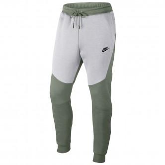 Nike Sportswear Tech Fleece Jogger Grigio/Verde 805162-351