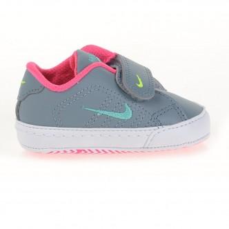 Nike First Court Tradition Lea CBV - Scarpine da culla col. Grigio/Fuxia cod. 315423-002