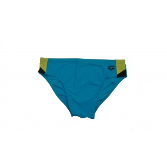 Arena Ren Brief Turchese/Verde Fluo/Nero 000992856