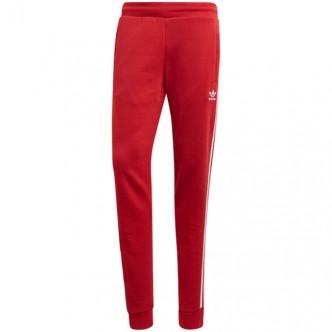 Adidas 3 Stripes Pants Rosso/Bianco DV1547