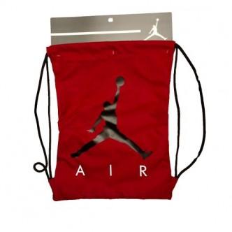 Air Jordan Gym Sack Rosso/Nero 9A0042-R78