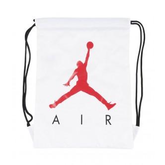 Air Jordan Gym Sack Bianco/Rosso 9A0042-001