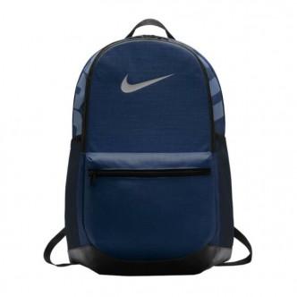 Nike Zaino Brasilia M Blu BA5329-410