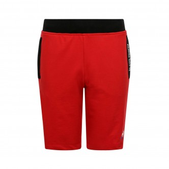 PANTALONCINO ESSENTIELS REGULAR ROSSO