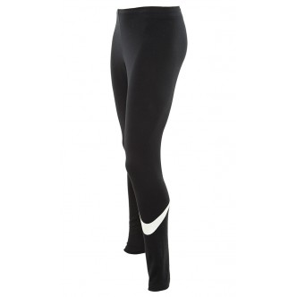 Nike Sportswear Logo Club Women's Casual Athletic Leggings Nero/Bianco 830337-010