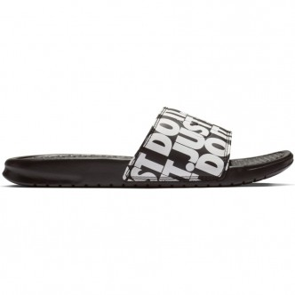 "Nike Benassi ""Just Do It"" Nero/Bianco 631261-024"