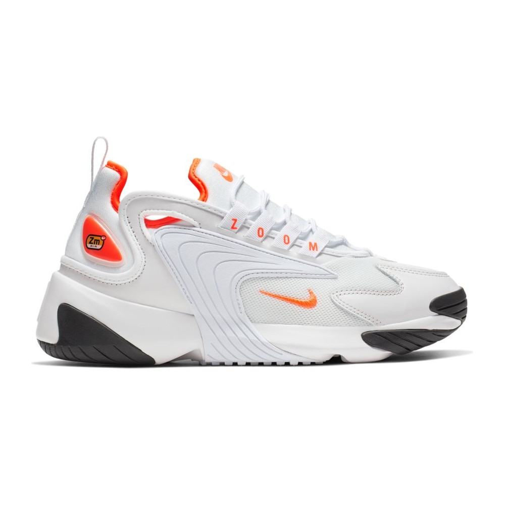 nike zoom 2k bianche e fluo