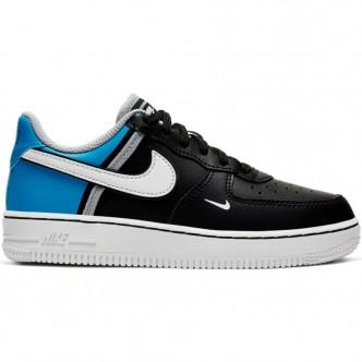 Nike Force 1 LV8 2 (GS) Nero/Azzurro CI1757-001