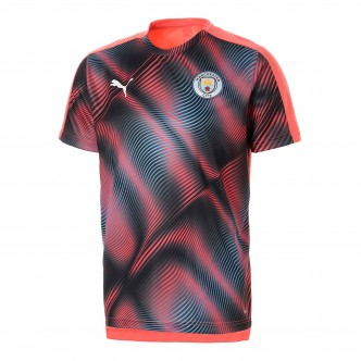 Puma - MCFC Stadium League Jersey col. Georgia Peach-Puma Black cod. 755817-29