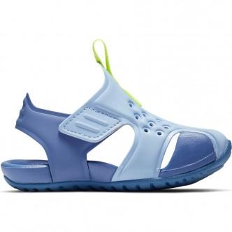 Sandalo Nike Sunray Protect (TD) Azzurro/Giallo Fluo 943827-401