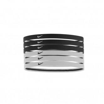 Nike - Swoosh Headbands 6pz col. Bianco/Nero cod. NJND6010OS